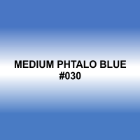 Мелок для волос Medium Phtalo Blue #030