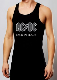 Майка AC/DC. Back in Black (арт.812)