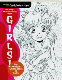 The Manga Artist's Coloring Book: Girls!