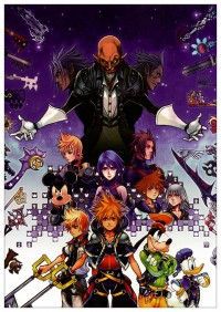 Портретный постер Kingdom Hearts #19