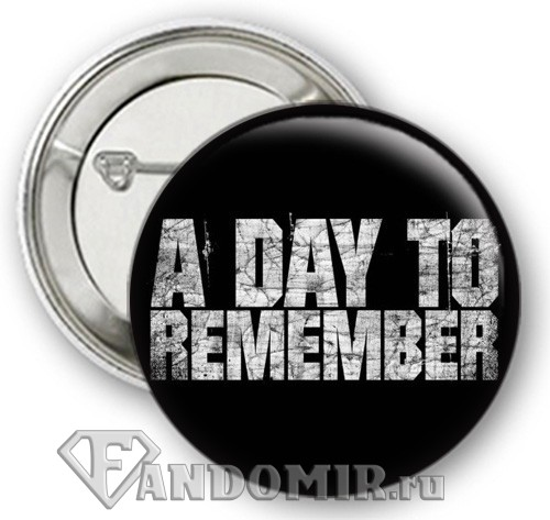 Значок A DAY TO REMEMBER