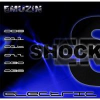 Струны EMUZIN 6 SR 08-38 Shockers. Электро (сталь)