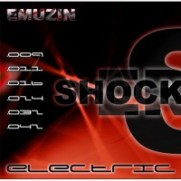Струны EMUZIN 6 SR 09-42 Shockers. Электро (сталь)