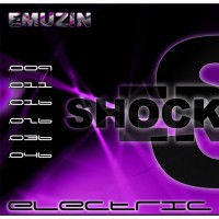 Струны EMUZIN 6 SR 09-46 Shockers. Электро (сталь)