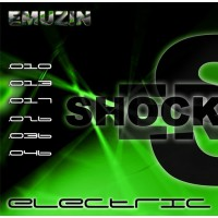 Струны EMUZIN 6 SR 10-46 Shockers. Электро (сталь)