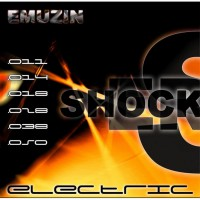 Струны EMUZIN 6 SR 11-50 Shockers. Электро (сталь)