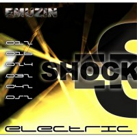 Струны EMUZIN 6 SR 12-52 Shockers. Электро (сталь)