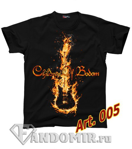 Футболка CHILDREN OF BODOM (арт.005)
