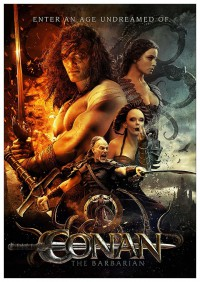 Портретный постер Conan the Barbarian #2