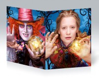 Школьная тетрадь Alice Through the Looking Glass #1