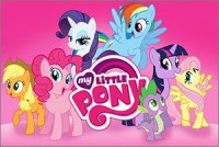Стикер My Little Pony #1