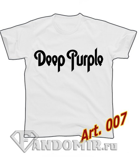 Футболка DEEP PURPLE (арт.007)