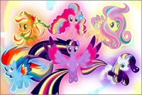 Стикер My Little Pony #2