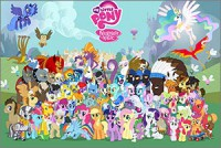 Стикер My Little Pony #3