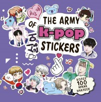 The ARMY of K-POP stickers. Более 100 ярких наклеек!