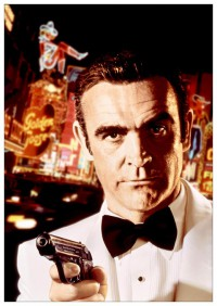 Портретный постер James Bond: Diamonds Are Forever #1