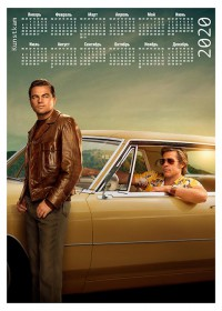 Настенный календарь Once Upon a Time... in Hollywood #1