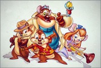 Стикер Chip and Dale Rescue Rangers #2