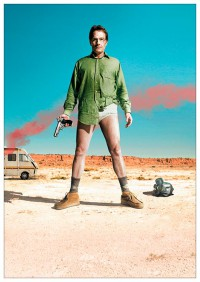 Портретный постер Breaking Bad #3