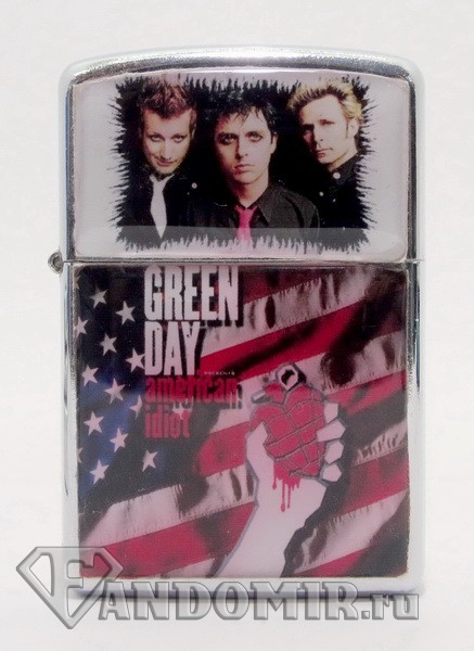 Зажигалка GREEN DAY - American idiot