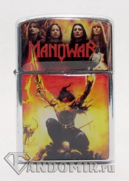 Зажигалка MANOWAR. The Triumph Of Steel. Z-073