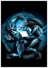 Портретный постер Aliens vs Predator #2