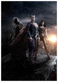 Портретный постер Batman v Superman: Dawn of Justice #2