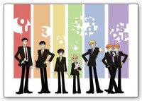 Набор стикеров Ouran High School Host Club #1