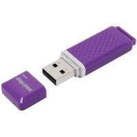 Флешка Smart Buy USB 64GB Quartz series Violet