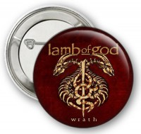 Значок LAMB OF GOD