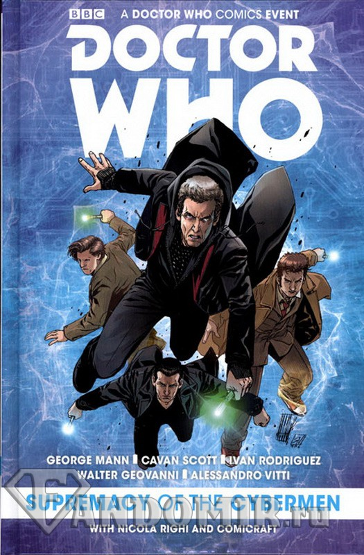 Doctor Who Supremacy Of The Cybermen HC