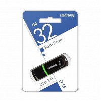 Флешка USB Smart Buy Paean Black (32Gb)