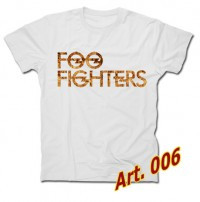 Футболка FOO FIGHTERS (арт.006)