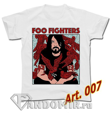 Футболка FOO FIGHTERS (арт.007)