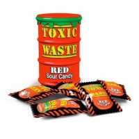 Конфеты Toxic Waste. Red