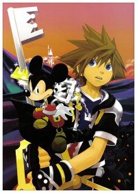 Портретный постер Kingdom Hearts #10