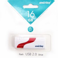 Флешка Smart Buy Hatch White (16Gb)